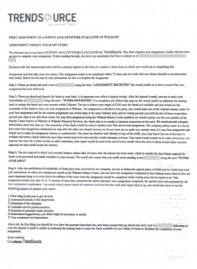 Trendsource Scam Letter