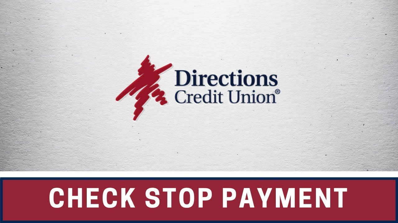 Check Stop Payment