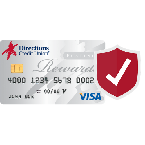 Directions Credit Card w/Secure shield